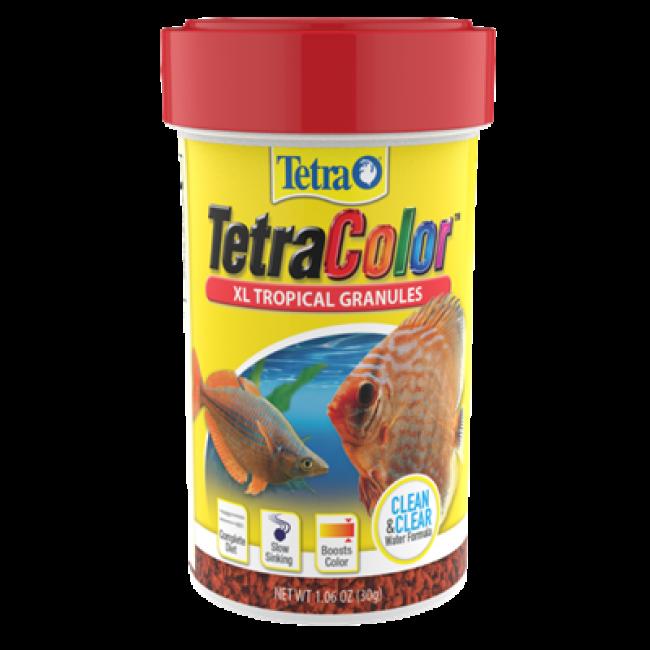 Thức ăn Tetra Colour kích màu cho cá đĩa (Hộp 300g)