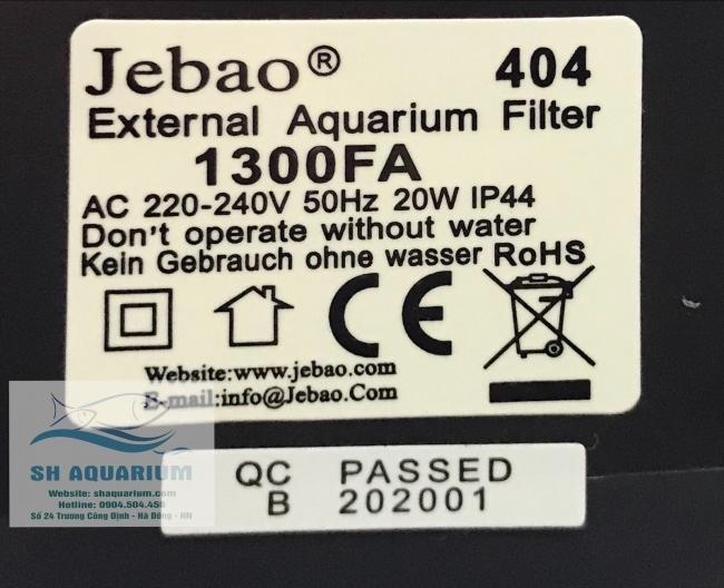 Lọc thùng Jebao 404
