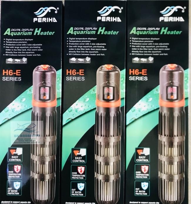 Sưởi cho bể Periha Thế  hệ mới H6-E 500W
