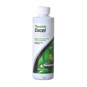 Phân nước Seachem Flouris Excel 500ml bổ xung CO2 và diệt rêu hại