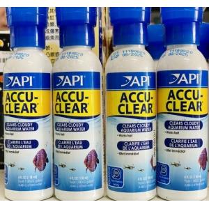 Dung dịch khử đục làm trong nước API ACCU Clear 118ml
