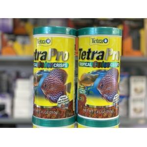 Thức ăn cá cảnh Tetra Pro Tropical Fish Color Crisp 210Gs